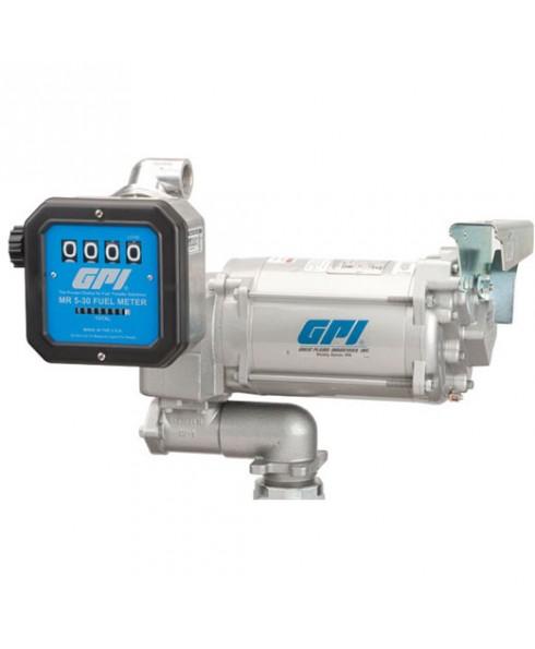 GPI 115 Volt / 230 Volt Aviation Pump & Meter Combo