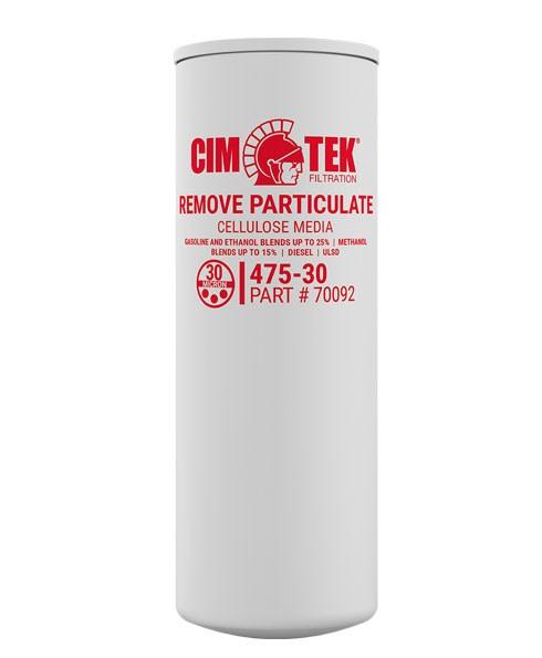 Cim-Tek 70092 475XL-30 30 Micron Fuel Dispenser Filter