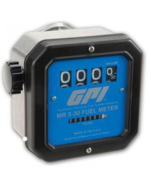 "GPI MR-5-30-G8N - 1"" NPT Mechanical Meter (5-30 GPM)"