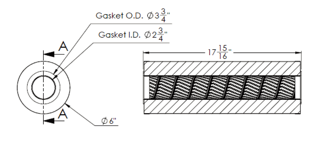 cim-tek 30009 viking e-1300-30 filter element