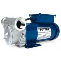 """Fill-Rite SV20A1DNSD 115V AC DEF Stainless Steel Rotary Vane Pump, 1"""" NPT (20 GPM)"""