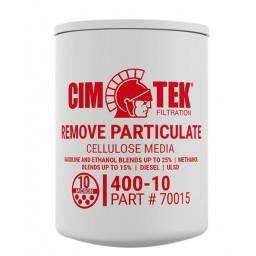 Cim-Tek 70015 400-10 10 Micron Gasoline Fuel Dispenser Filter