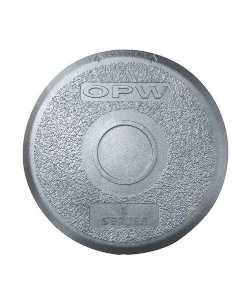 "OPW 1-21AC 13"" Aluminum Cover w/ Seal"