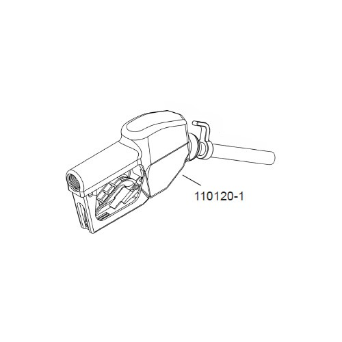 GPI 110120-1 Hook for Automatic Nozzle