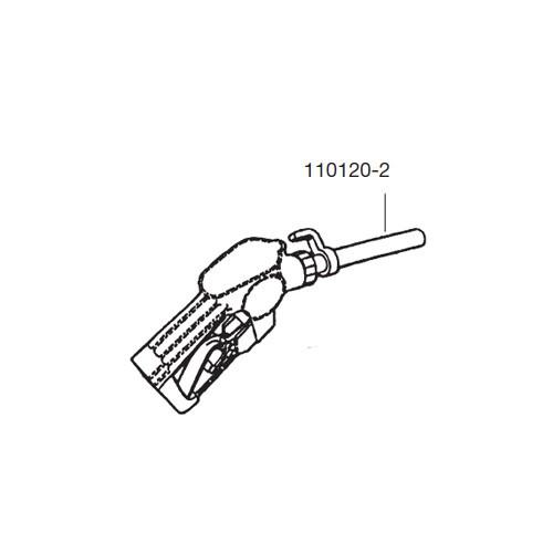 GPI 110120-2 M-3120 Automatic Nozzle Hook