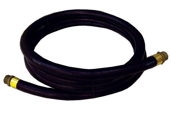 """GPI 110187-1 3/4""""  x 12' Electric Gear Pump Hose Assembly w/ Static Wire"""