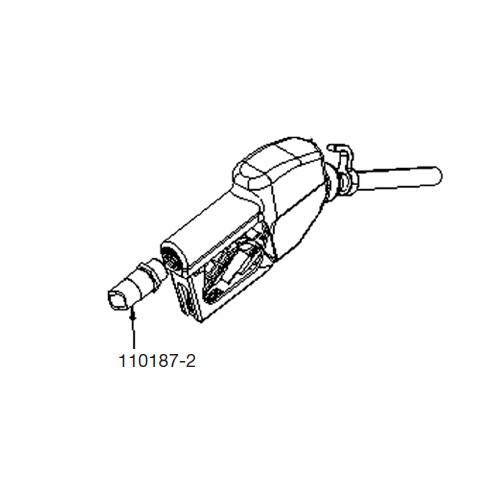 "GPI 110187-2 3/4"" x 10' Hose Assembly w/ Static Wire"