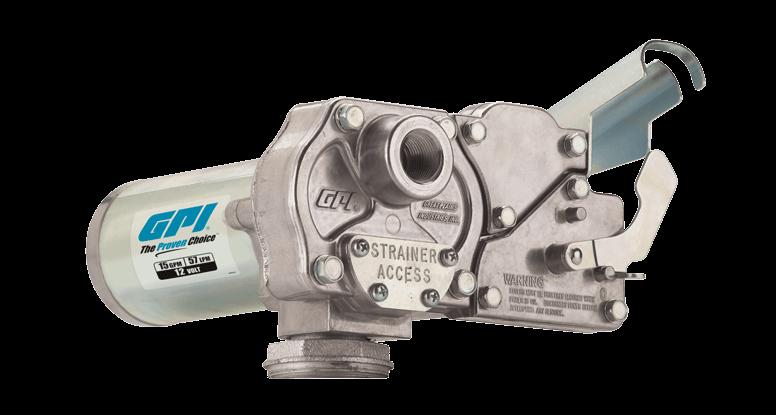 GPI M-150S-E-PO-BYO 12 Volt Fuel Transfer Pump (15 GPM)