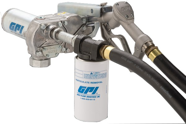 GPI M-180S-ML W/Filter 12 Volt Fuel Transfer Pump (18 GPM)