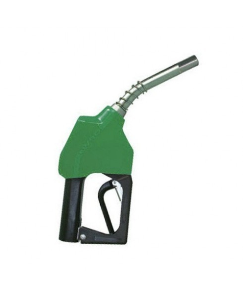 OPW 11A-0100-B20 Green Leaded Nozzle with 2 Piece Handwarmer