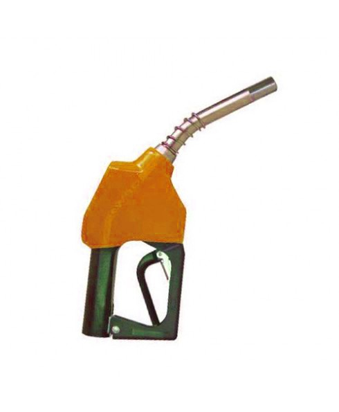 OPW 11A-0800-1P Orange Leaded Nozzle with 1 Piece Handwarmer