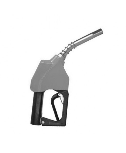 OPW 11AP-0200-1P Silver Unleaded Nozzle with 1 Piece Handwarmer