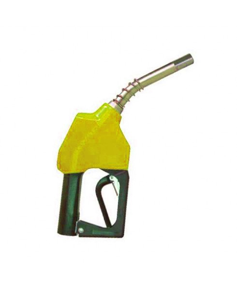 OPW 11AP-0900-E25 Yellow Unleaded Nozzle with 2 Piece Handwarmer