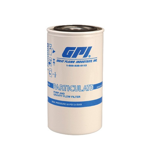 GPI 129340-01 10 Micron Particulate Filter w/ Draincock (18 GPM)