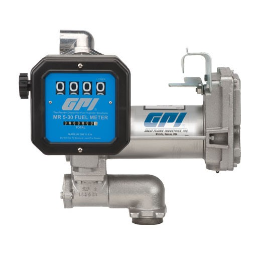 GPI 12 Volt Aviation Pump & Meter Combo