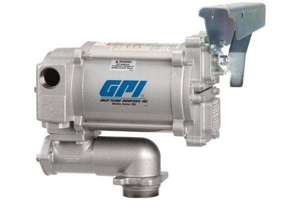 GPI M-3120-AV-PO 115 Volt Aviation Heavy Duty Vane Pump (20 GPM)