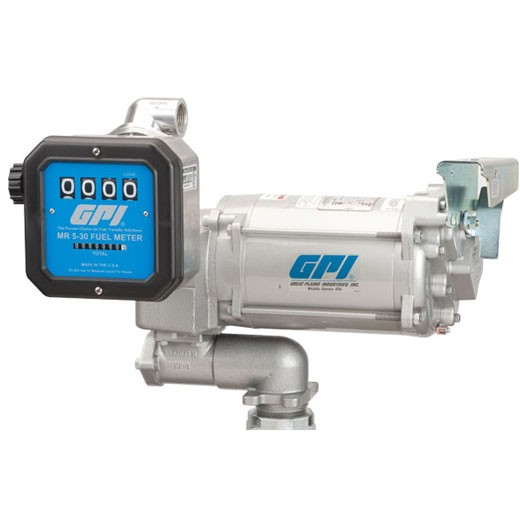 GPI 115 Volt / 230 Volt Aviation Pump & Meter Combo