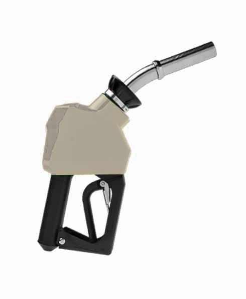 "OPW 14C-0200 - 3/4"" Silver Diesel Nozzle"