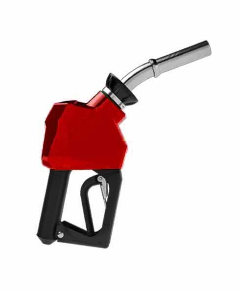"""OPW 14C-0300 - 3/4"""" Red Diesel Nozzle"""