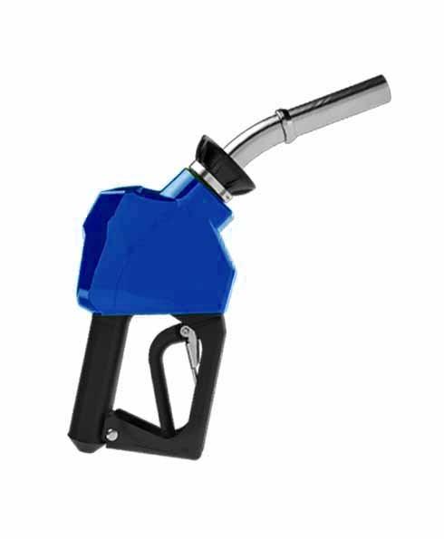 "OPW 14C-0500 - 3/4"" Blue Diesel Nozzle"