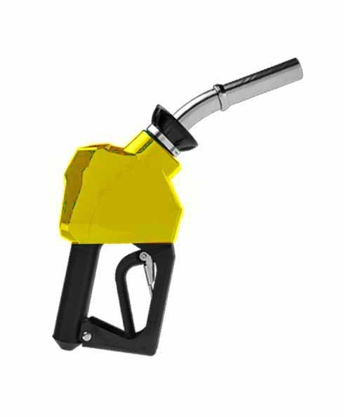 """OPW 14C-0750 - 3/4"""" Yellow Diesel Nozzle"""