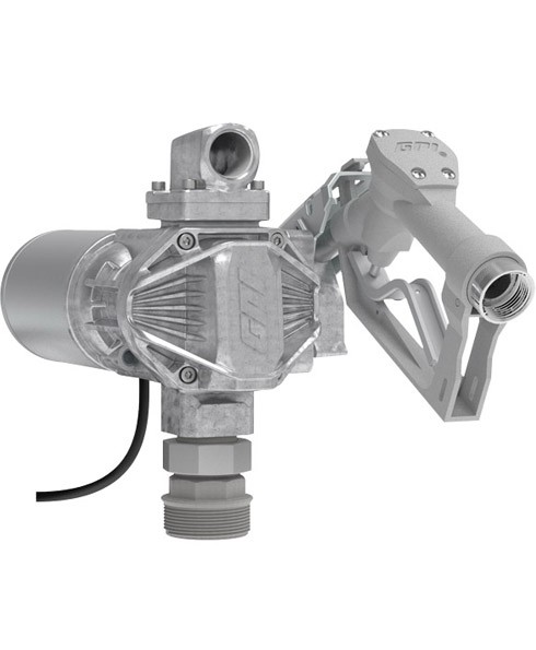GPI G20‐012MD 12 Volt G20 Fuel Transfer Pump w/ Manual Nozzle (20 GPM)