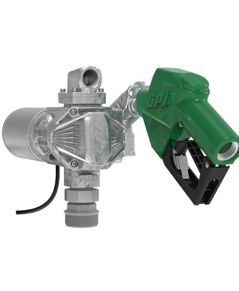 GPI G20‐012AD 12 Volt G20 Fuel Transfer Pump w/ Auto Nozzle (20 GPM)