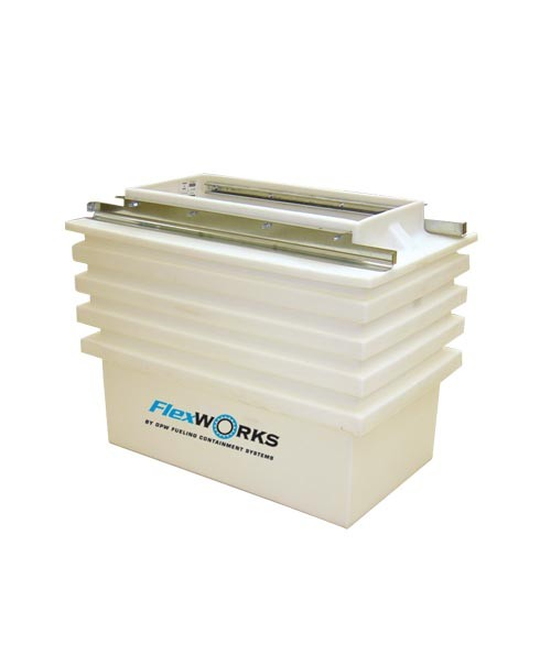 OPW DSW-1117F Wide Access Polyethylene Dispenser Sump