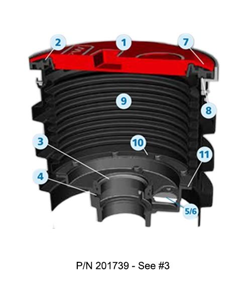 OPW 201739 Flange Adaptor