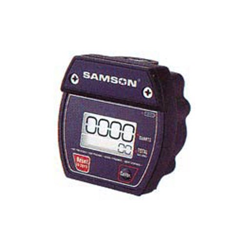 Samson 366000 Oval Gear In-line Meter with Digital Display (5.25 GPM)