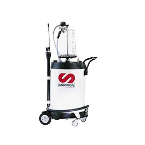 Samson 3721 Mobile Used Fluid Suction Unit w/ Chamber (27 Gal)
