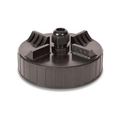 """Universal 418TM-40 4"""" Tank Monitoring Cap w/ 3/8"""" Cable Connector"""