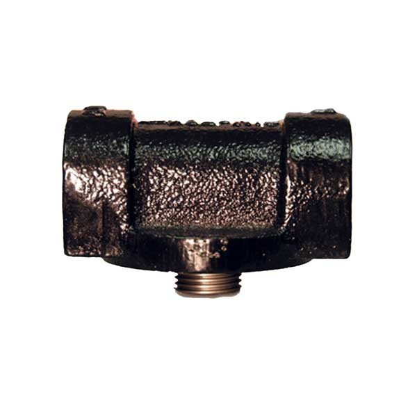 "Cim-Tek 50003 - 3/4"" NPT Cast-Iron Fuel Filter Adaptor"