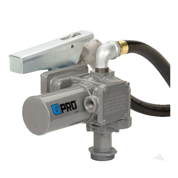 GPI PRO20-012MD 12 Volt Fuel Transfer Pump w/ Manual Diesel Nozzle (20 GPM)