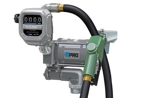 GPI PRO20-115AD/QM240G8N 115 Volt GPRO Fuel Transfer Pump w/ Auto Diesel Nozzle & Meter (20 GPM)