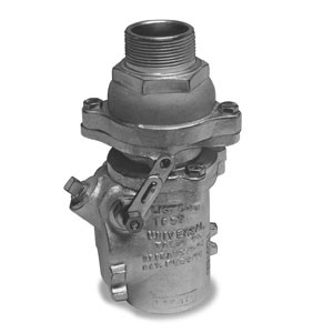 Universal 522DP-RF-15 -Female Double Poppet Safety Valve