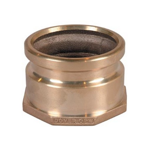 "OPW 633TCP-3803 4"" Aluminum Tight-Fill Top-Seal Coaxial Adaptor"