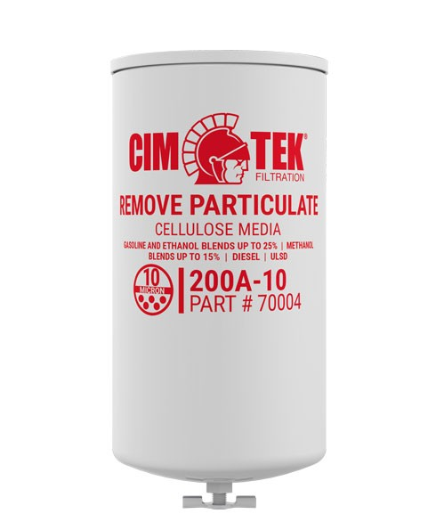 Cim-Tek 70004 200AE-10 10 Micron Fuel Dispenser Filter