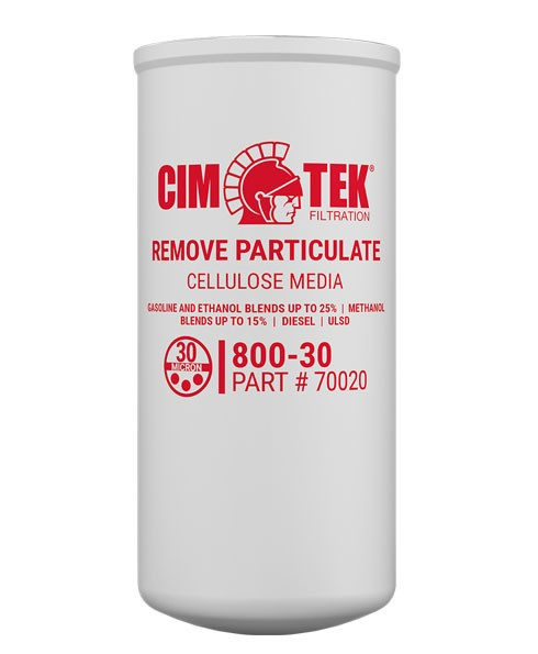 Cim-Tek 70020 800-30 30 Micron Diesel Fuel Dispenser Filter