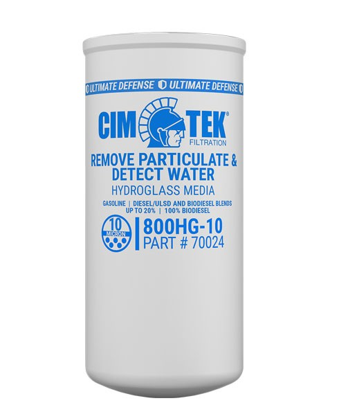 Cim-Tek 70024 800BHG-10 10 Micron Hydroglass Fuel Dispenser Filter