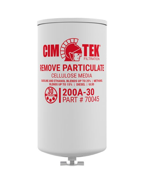 Cim-Tek 70045 200AE-30 30 Micron Fuel Dispenser Filter