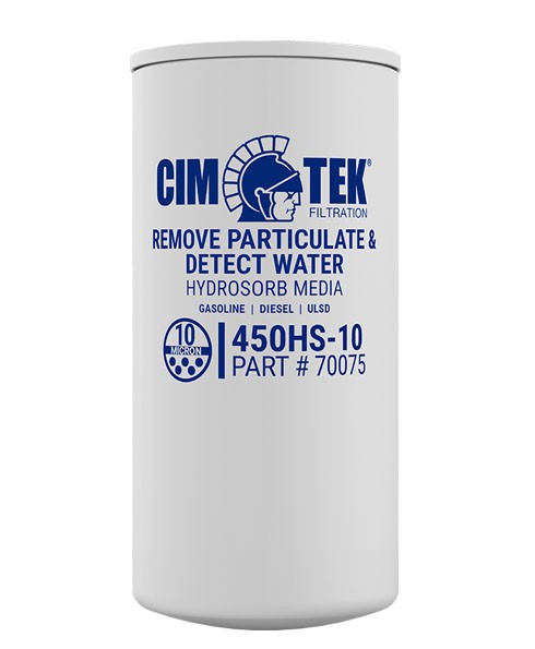 Cim-Tek 70075 450HS-10 10 Micron Gasoline Hydrosorb Fuel Dispenser Filter