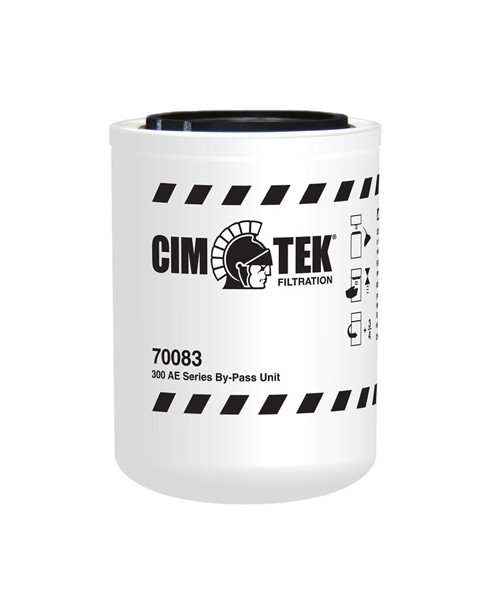 Cim-Tek 70083 300A-Empty Particulate Fuel Filter