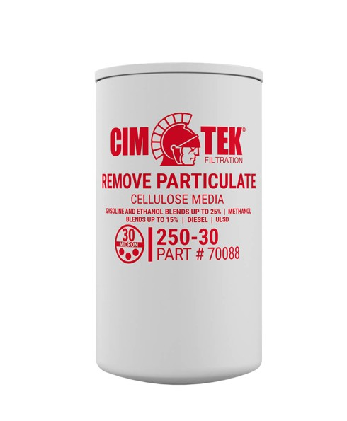 Cim-Tek 70088 250E-30 30 Micron Fuel Dispenser Filter