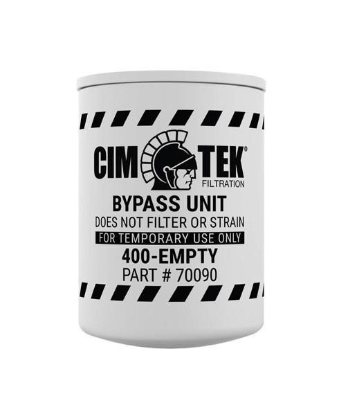 Cim-Tek 70090 400-Empty Spin-On Bypass Filter