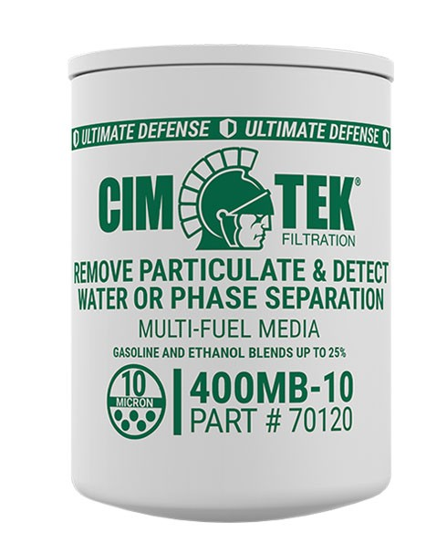 Cim-Tek 70120 400MB-10 10 Micron Gasoline Fuel Dispenser Filter