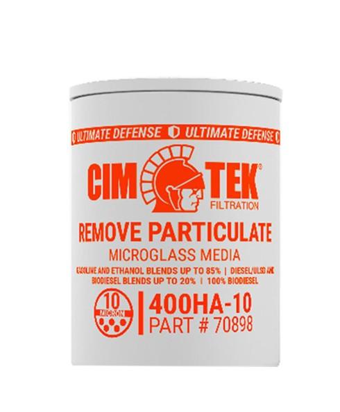 Cim-Tek 70898 400BHA-10 10 Micron Microglass Fuel Filter
