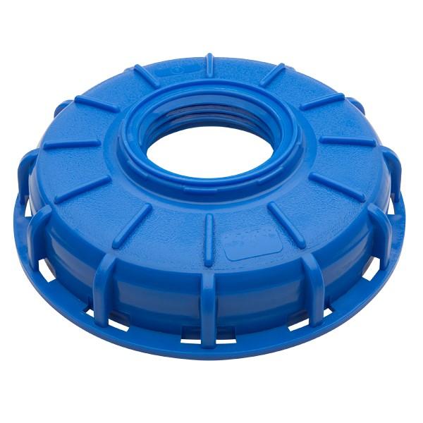 "Micro Matic 749-326 - 6"" IBC Center Blue Cap (2.5"" x 5"" Buttress)"