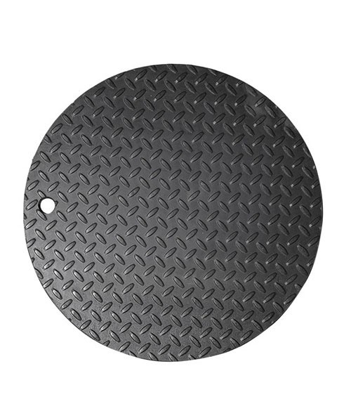"Franklin Fueling 78130601 18"" Steel Round Manway Cover"