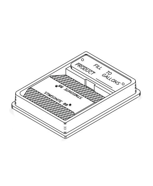 Franklin Fueling 78720102 4'' × 5'' Low-grade Unleaded Fill Identifier Kit